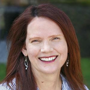 Smiling face of senior communications specialist Diane Schmidt